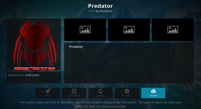 Predator Addon Guide - Kodi Reviews