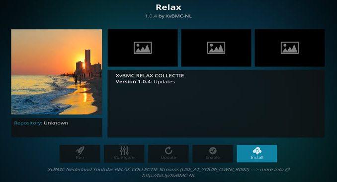 Relax Addon Guide - Kodi Reviews