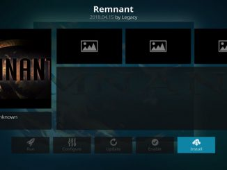 Remnant Addon Guide - Kodi Reviews