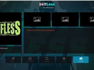 Selfless Addon Guide - Kodi Reviews