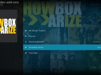 Showbox Arize Addon Guide - Kodi Reviews