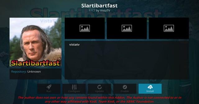 Slartibartfast Addon Guide - Kodi Reviews