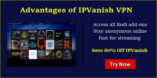 IPVanish for Kodi