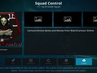 Squad Control Addon Guide - Kodi Reviews
