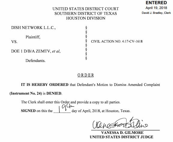 Case Dismissal