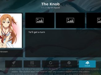 The Knob Addon Guide - Kodi Reviews