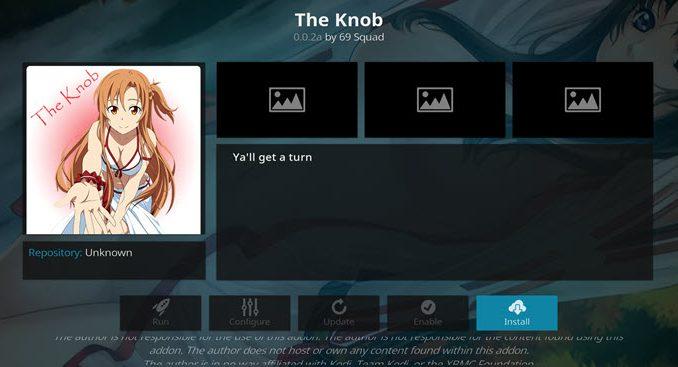 The Knob Addon Guide - Kodi Reviews