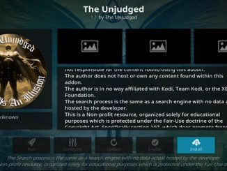 The Unjudged Addon Guide - Kodi Reviews