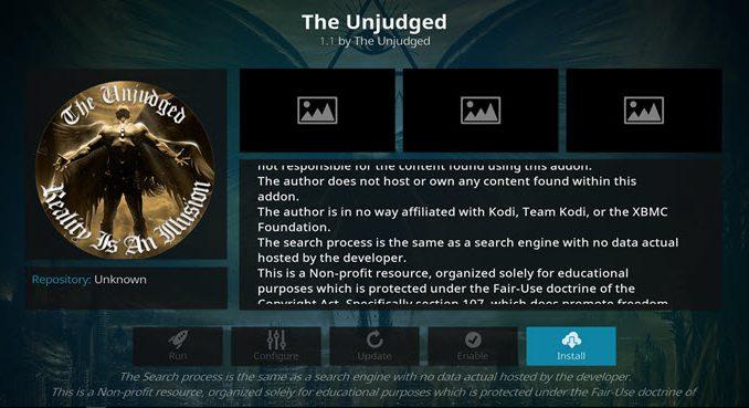 The Unjudged Addon Guide - Kodi Reviews