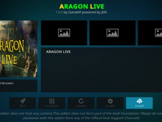 Aragon Live Addon Guide - Kodi Reviews