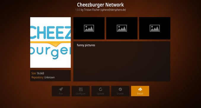 Cheezeburger Network Addon Guide - Kodi Reviews