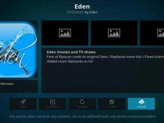 Eden Addon Guide - Kodi Reviews