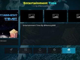 Entertainment Time Addon Guide - Kodi Reviews