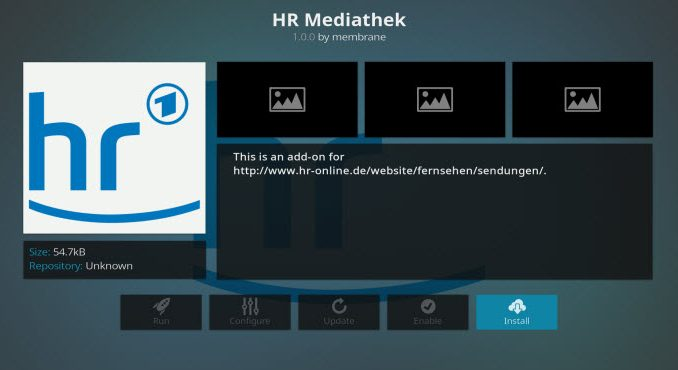 HR Mediathek Addon Guide - Kodi Reviews