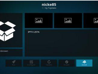 Nicke85 Addon Guide - Kodi Reviews