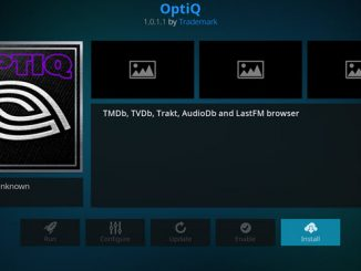 Optiq Addon Guide - Kodi Reviews