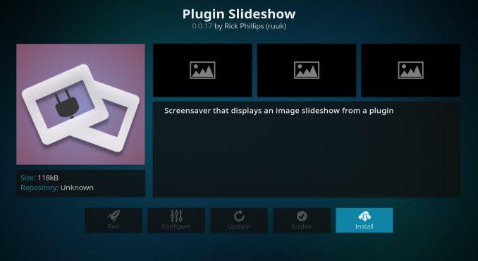 Plugin Slideshow Addon Guide - Kodi Reviews