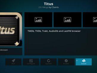 Titus Addon Guide - Kodi Reviews