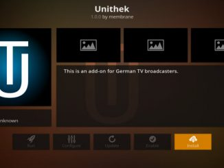 Unithek Addon Guide - Kodi Reviews