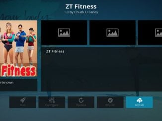 ZT Fitness Addon Guide - Kodi Reviews