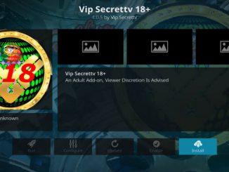 Secret TV VIP Addon Guide