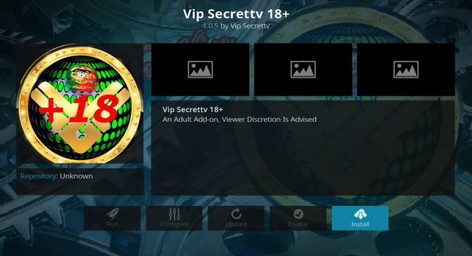 Secret TV VIP Addon Guide