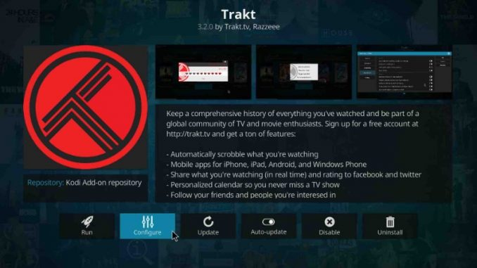How to Install and Set Up Trakt on Kodi
