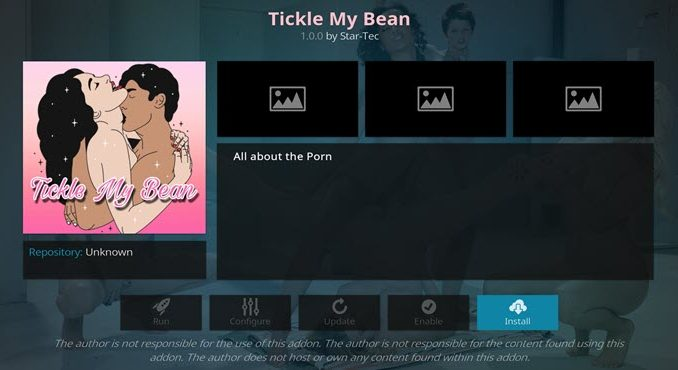 Tickle My Bean Addon Guide