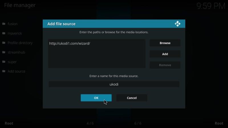 how to install UKodi1 wizard on kodi