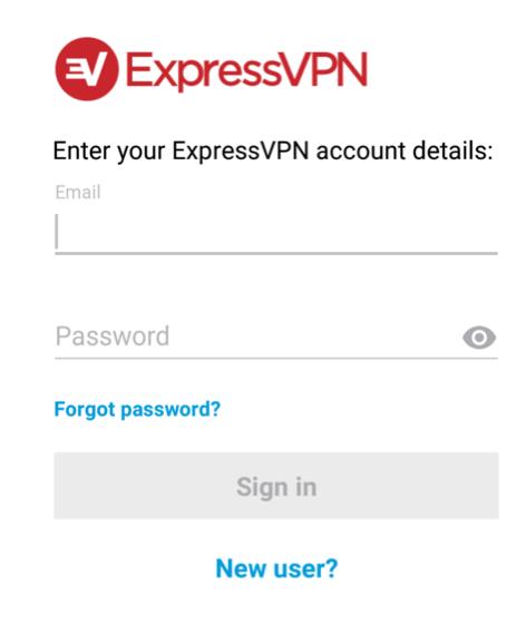 setup expressvpn on mobile