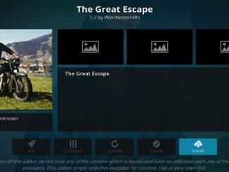 The Great Escape Addon Guide