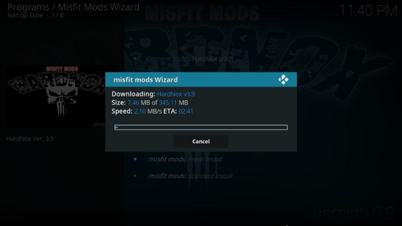 download hardnox kodi build