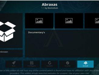 Abraxas Addon Guide - Kodi Reviews