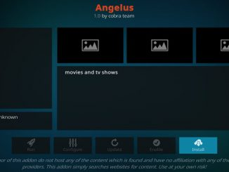 Angelus Addon Guide - Kodi Reviews