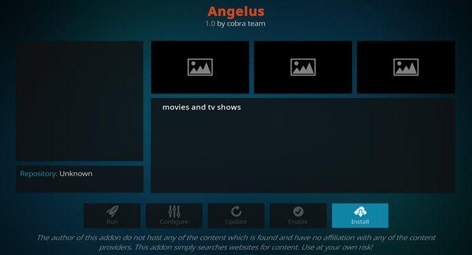 Angelus Addon Guide - Kodi Reviews