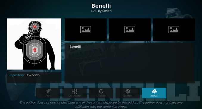 Benelli Addon Guide - Kodi Reviews