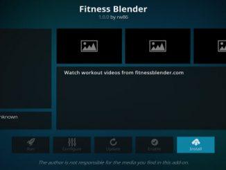 Fitness Blender Addon Guide - Kodi Reviews