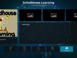 GrindHouse Learning Addon - Kodi Reviews