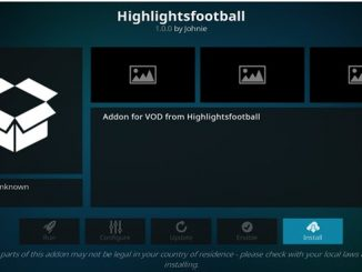 HighlightsFootball Addon Guide - Kodi Reviews