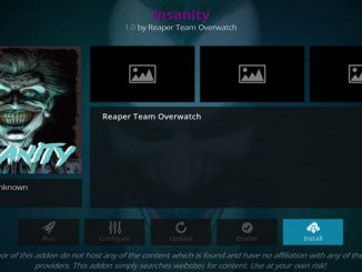 Insanity Addon Guide - Kodi Reviews