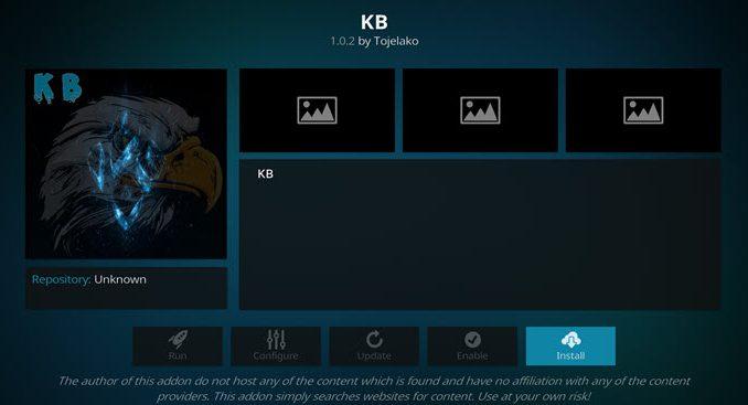 KB Addon Guide - Kodi Reviews