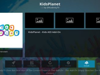 KidsPlanet Addon Guide - Kodi Reviews