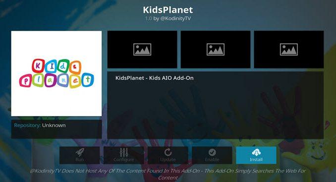 KidsPlanet Addon Guide - Kodi Reviews