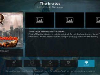 Kratos Addon Guide - Kodi Reviews