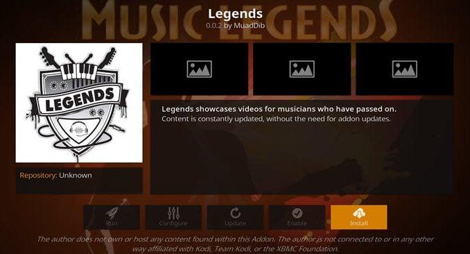 Legends Addon Guide - Kodi Reviews