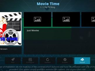 Movie Time Addon Guide - Kodi Reviews