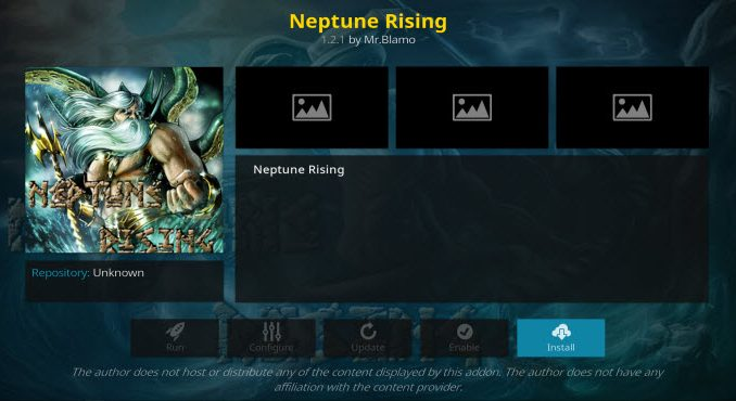 Neptune Rising Addon Guide - Kodi Reviews