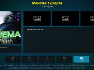Nevena Cinema Addon Guide - Kodi Reviews