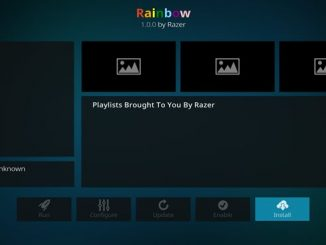 Rainbow Addon Guide - Kodi Reviews