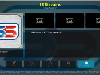 SS Streams Addon Guide - Kodi Reviews